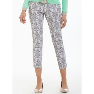 Anthropologie Cartonnier :: brocade ankle trousers